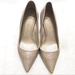 {Burberry} Taupe Pumps Size 39.5EUR